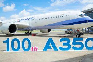 Airbus entrega o 100º A350 XWB