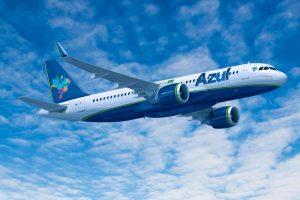 Azul estreia operação do A320neo em João Pessoa