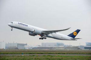 Lufthansa recebe o seu primeiro avião A350
