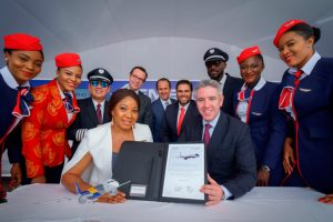 Air Peace assina pedido firme para três jatos E195-E2 adicionais