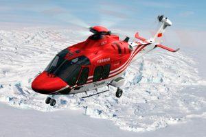 AW169 no apoio a missões científicas de exploração polar da China