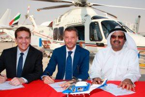 Milestone Aviation e Leonardo fornecerão três AW169 para a Falcon