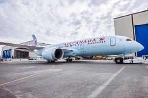Air Canada incorpora o 787 Dreamliner em voos para Buenos Aires