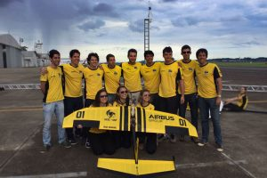 Airbus Group patrocina equipe vencedora do 18º SAE-Brasil Aerodesign Competition