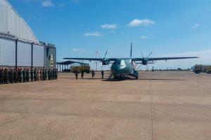 Chega ao fim o tour mundial do Airbus C295 de busca e resgate adquirido pelo Brasil