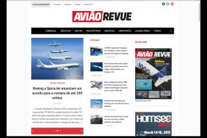 Avião Revue exclusivamente digital