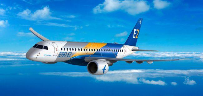 Embraer e NAC assinam contrato para três jatos E190