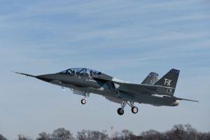 O Boeing T-X completa o seu primeiro voo e valida um design com base nos requisitos da força aérea norte-americana