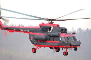 Rússia recebe seu primeiro helicóptero para o Ártico
