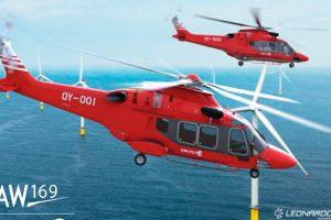 AW169 recebe primeiro pedido da Dinamarca e entra no mercado de apoio a parques eólicos do Reino Unido