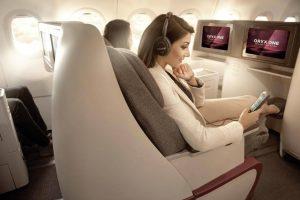 Qatar Airways premiada pelo serviço de entretenimento a bordo