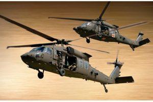 Sikorsky assina contrato de cinco anos para construir helicópteros Black Hawk para o Exército Americano