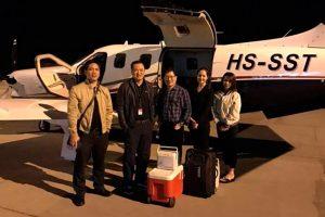 Primeiro TBM 930 voando na Ásia