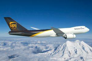 Boeing e UPS anunciam um pedido de 14 aviões 747-8 Freighter