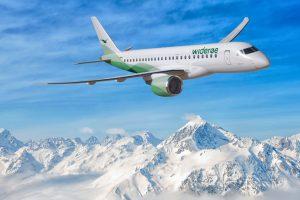 Embraer fecha acordo para entregar até 15 aviões E2 para a Widerøe