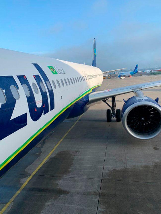 Azul recebe o primeiro Airbus A321neo do Brasil