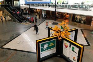 Aeroporto de Brasília inaugura exposição em homenagem ao aniversário da cidade