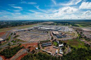 Aeroporto de Brasília recebe certificação ambiental por redução de emissão gases de efeito estufa em 2017