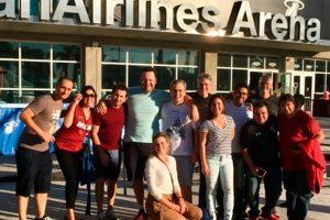 American leva agentes de viagem para Miami