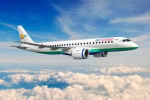 Embraer assina contrato com Air Kiribati para até quatro jatos E190-E2