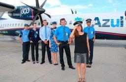 Com pontualidade de 92%, Azul celebra primeiro mês de operação entre Recife e Manaus