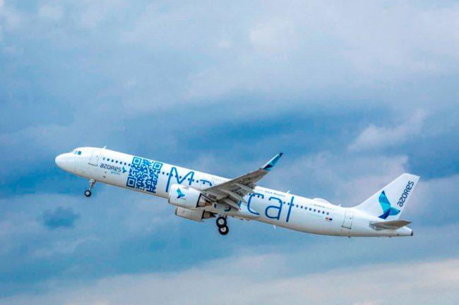 Azores Airlines recebe o primeiro A321LR