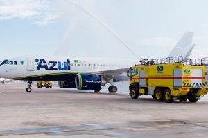 Navegantes recebe novo voo da Azul para Foz do Iguaçu