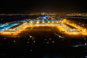 Inframerica investe em iluminação sustentável para os pátios de aeronaves do Aeroporto de Brasília