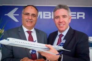 CIAF Leasing assina pedido firme para três jatos E190