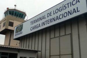 Aeroporto de Cuiabá tem crescimento de 125% na movimentação de cargas no 1º trimestre
