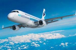 Embraer e Air Botswana assinam contrato de suporte ao E170
