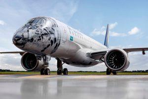 Air Astana, do Cazaquistão, recebe seu primeiro jato E190-E2