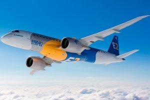 Embraer e Hunnu Air, da Mongólia, assinam contrato de suporte para frota de jatos E190