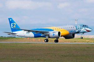 "Jato E190-E2 ""Shark"" completa turnê mundial"
