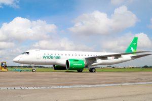 Widerøe, da Noruega, recebe o primeiro jato E190-E2 no mundo