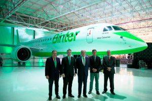 Binter recebe seu primeiro jato E195-E2