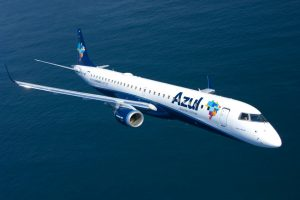 Embraer e Azul assinam carta de intenção para jatos E195-E2 adicionais