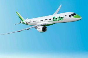 Embraer e Binter, da Espanha, assi nam contrato de serviços para  nova frota de jatos E195 – E2