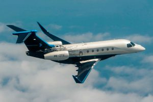 A Embraer lança os jatos executivos Praetor 500 e Praetor 600