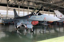 Base Aérea N.º 5 recebe F-16 modernizado pela OGMA