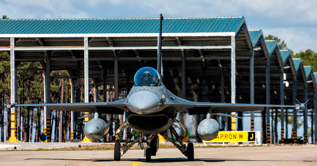 Avión de la Fuerza Aérea Portuguesa