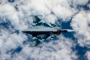 Saab Apresenta Primeiro Gripen E para o Brasil