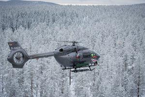 H145M lança com sucesso foguetes guiados a laser de 70mm durante sua campanha de tiro na Suécia