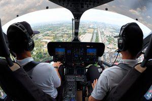 Frota com Helionix atinge marco de 100 mil horas de voo