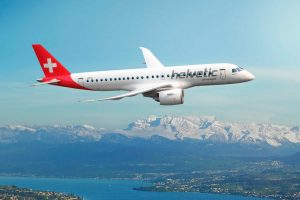 Helvetic Airways assina pedido firme para 12 jatos E190-E2