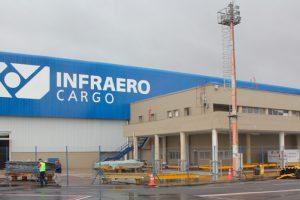 Movimentação de cargas cresce 6,5% no Aeroporto Afonso Pena