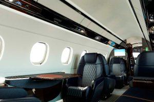 Embraer Faz Début de Novo Design de Assentos para o Legacy 450 e Legacy 500 na EBACE a bordo do Legacy 450