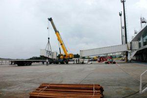Iniciadas obras de modernização das pontes de embarque de Manaus