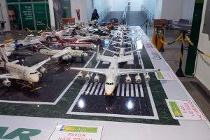 Exposição de aeromaquetes movimenta Aeroporto de São Luís