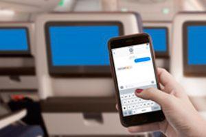 Delta vai oferecer serviço gratuito de mensagens móveis a bordo